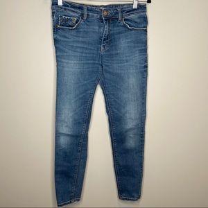 Stradivarius skinny low waist jeans Sz 10